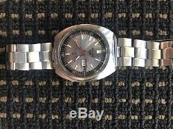 Seiko 6119 6023 Argent Rare Excellente Near Mint Condition Originale Tous