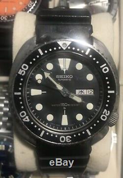 Seiko 6306 7001, Diver Rare De Janvier 1979 Excellent État D'origine Bracelet
