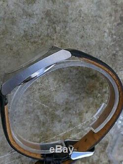 Seiko 7009-8009 Brown Cadran Noir Excellent État D'origine