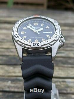 Seiko 7s26-0010 Skx001 Diver Midsize Excellent État D'origine