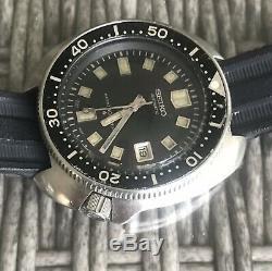 Seiko Diver 6105 8119 Excellent État D'origine