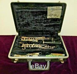 Selmer Pour Hautbois B17142 Originale Bundy Hard Shell Case Excellent État