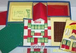 Set Original, Vintage 1957 Bayko Bâtiment 2 Boxed, En Excellent État