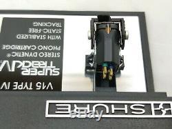 Shure V15 Type IV Cartouche Avec La Boîte D'origine En Excellent État