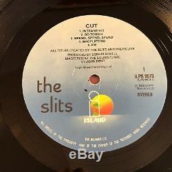 Slits Cut 1979 Uk Vinyl Lp Excellent État A-1u B-1u 1er Presse Originale