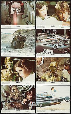Star Wars Originale 1977 Couleur Nss Hall Encore Photo Ensemble Excellent État