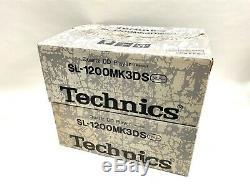 Technics Sl-1200 Mk3d Avec La Boîte Originale En Excellent État (2 Unités)