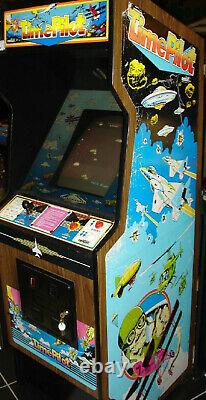 Time Pilot Arcade Machine Par Centuri 1982 (excellent État) Rare