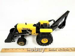 Tonka Des Années 1970 Tracteur Digger-plow Excellent État D'origine