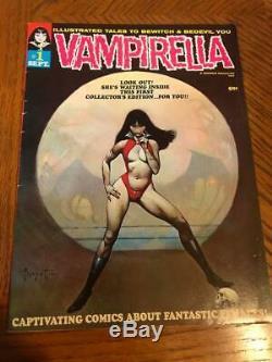 Vampirella # 1 Septembre 1969 Originale Warren Publishing Excellent Etat