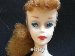 Vieux Titien #5 Penytail Barbie. 1961 En Excellent État