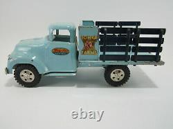 Vintage 1957 Tonka Farms Stake Truck Excellent État D'origine