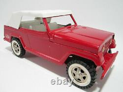 Vintage 1970 Tonka Jeepster Convertible Sedan -excellent État D'origine