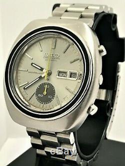 Vintage 1971 Seiko Excellente 6139-8020 Dans Toutes Les Conditions D'origine! USA Vendeur