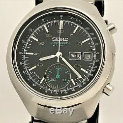 Vintage 1976 Seiko Excellente 6139-7100 Dans Toutes Les Conditions D'origine! USA Vendeur