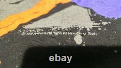 Vintage 1991 Rush Roll The Bones T-shirt Xl. Excellent État. 26 Longueur