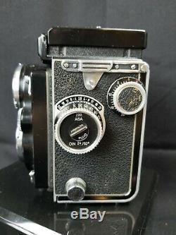 Vintage Camera Original Film Rolleiflex En Excellent État