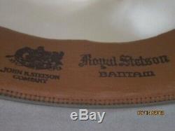 Vintage Chapeau Stetson, Batiman Ferdora 7 1/4 Excellent Etat Pour Son Âge
