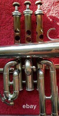 Vintage Couesnon Monopole Paris Bb Flugelhorn Excellente Condition Originale