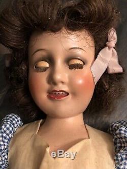 Vintage Excellent État 17 Deanna Durbin Composition Doll Toutes Boîte Originale