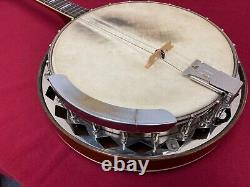 Vintage Gibson Tb-2 Tenor Banjo, Excellent État Avec Hsc Original