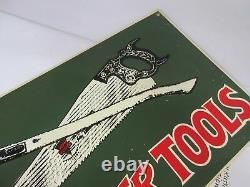 Vintage Keen Kutter Tools Publicité Tin Sign Excellent État 293-z