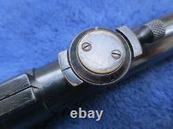 Vintage Original Allemand Gerard Rifle Scope Excellent État Avec Le Mont