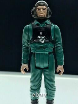 Vintage Star Wars A-wing Pilot De 17 Derniers Ans Excellent État Mint
