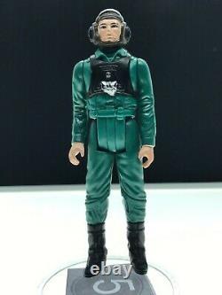Vintage Star Wars A-wing Pilot Last 17 Excellent État Menthe