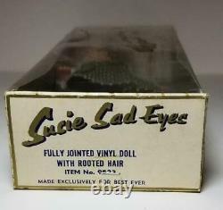 Vintage Susie Sad Yeux Doll Boîte Originale Meilleur Ever Excellent État