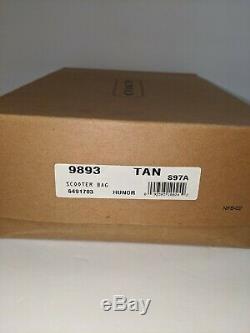 Vtg Entraîneur Britannique Tan Scooter 9893 Avec La Boîte Originale! Condition Excellente