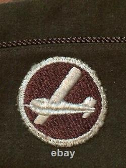 World War 2, Soaring Glider Os Cap Medical Insignia, Fe, Excellent État, #1