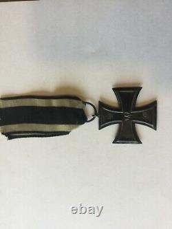 Ww1 Original German Iron Cross Excellent État Esprit Rare Ko Timbre