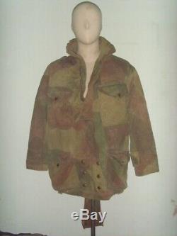 Ww2 Originale 1944 2ème Modèle Denison Smock Airborne Taille 1 Excellent État