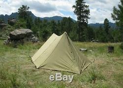 Ww2 U. S. Army Pup Tente Complète Et Originale Début Seconde Guerre Mondiale Edition Excellent Etat