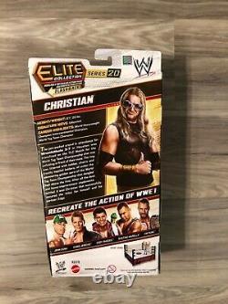 Wwe Elite Christian Series 20 Nouveau! Moc! Excellent État! Edge & Christian