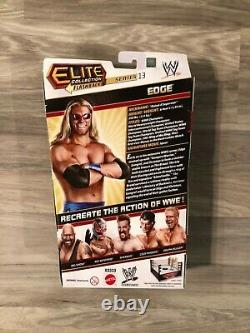 Wwe Elite Edge Series 13 Nouveau! Moc! Rayons! Excellent État! Superstar R Cotée