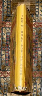 Xxrare 1934 Le Pop-up Buck Rogers Pop-up Couleur Excellent État