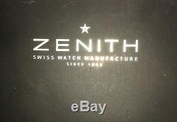 Zenith Originale De Poche Mouvement De Montre Couronne Excellent État De Travail Splendide